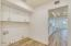 Inside Laundry Room w/storage