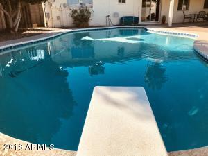 Did you know a diving pool stays cooler in the summer due to the deeper water?
