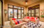 French doors opens to the patio from family, dinning room and Master bedroom