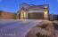 Large driveway entrance. NW Facing. No direct sunlight. Gorgeous sunsets and mountain views.