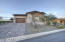 Brick paver driveway & stone accent exterior.
