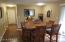 Large Dining Area off Kitchen in Addition to Formal Dining