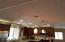 Decorative Kitchen Ceiling with New Recessed LED Lights and Pendant Lights in 2016