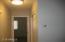 Hallway facing master bedroom