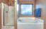 Separate tub/shower in master bathroom
