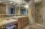 Guest bath 2 with custom tile work