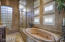 Separate Tub and Walk in Rain Shower with Double heads