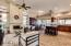 Desirable open floor plan with tons of upgrades