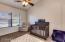 Third Bedroom. Ceiling Fan, Plush Carpet and Abundant Window