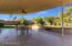 Large covered patio with misters perfect for hosting family and friends for any type of gathering.