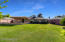 Large lush backyard is perfect for Fido to fetch and kiddos to play, not to mention plenty of room for an addition without sacrificing the whole backyard!