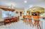 Breakfast room and breakfast bar