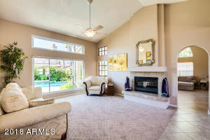 Soaring Smooth Ceilings (No Popcorn) , 2-Way Fireplace, Many Windows Provide LOTS of Natural Lighting!