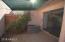 Front yard off of kitchen. Efficient Rheem HVAC system