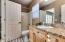 Decorative Tile Floor, Granite Countertops