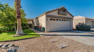Nicely maintained, low maintenance front yard.