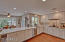 large roomy kitchen - this is the center of the home and has several points of access to the backyard