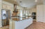 Beautifully upgraded cook's kitchen.