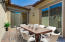 Courtyard area would make a perfect outdoor dining area