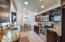 Custom cabinetry soft closing drawers and pullout shelving