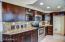 Granite cabinets and backsplash