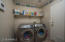 Laundry room so you can shut the door when you want!!