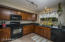 Spacious kitchen and so much storage!!