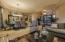 Open living/dining beautifully lends itself to entertaining.