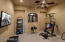 This bonus room off the master bath could be a home gym, nursery, hobby room, or second closet.