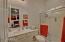 Guest Room Full Bath w/ Walk-In Shower