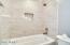 Hall Bath - Brand new Shower and Tub!