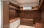 Custom designed luxurious Master Bedroom closet
