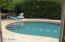 Private Pool shallow end stepout