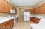 Kitchen with Loads of Counter Space and Cabinets!