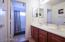DUAL SINKS AND SEPARATE WATER CLOSET/SHOWER