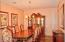 Large Dining Area Right Off The Passthrough Kitchen. Easily Fits 8. Fantastic For Family Gettotgethers