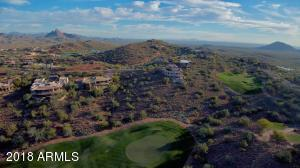 Drone View Looking Southwest Over Four Peaks Lot 6