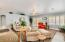 Newly remodeled and furnished interiors