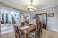 Formal dining room pic 2