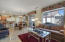 Stay connected with your guests by cooking and entertaining in the large open Great Room/kitchen area.