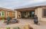 Extended paver patio to enjoy the AZ outdoor living.