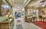 Custom Tile Pattern at Foyer