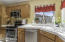 STAINLESS STEEL APPLIANCES, OPEN KITCHEN, AMPLE CABINETS