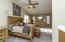 SPACIOUS MASTER SUITE W/VAULTED CEILINGS, SITTING AREA