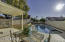 STUNNING PRIVATE BACKYARD W/EXTENDED PATIO. DIVING POOL