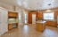 Spacious Kitchen with 2 Pantry's