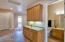 Super Wide Hallway with Extra Storage Next to Guest-Bath
