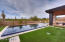 Lot 428 pool and back yard