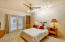 Spacious Master Bedroom w/ Lake Views