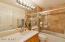 2nd BDR Bathroom Travertine Shower